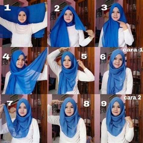 latest square hijab  scarves tutorial hijabiworld
