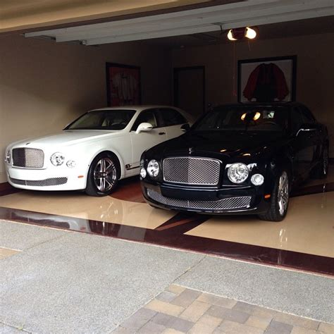 bentley floyd mayweather s garage is packed with mulsanne s