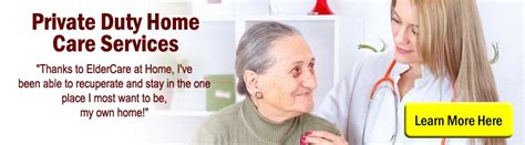 duty home care services at eldercare at home
