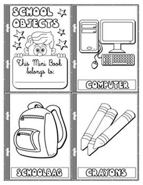 mini books english and vocabulary games on pinterest