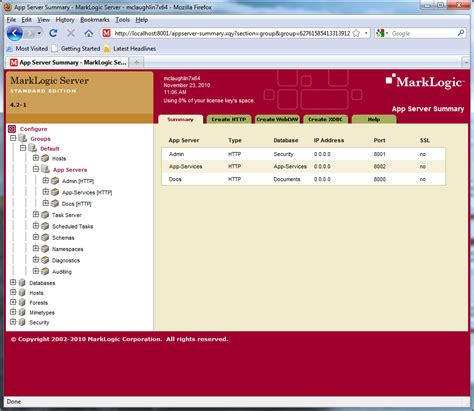 configure xp root directory configure marklogic maclochlainns weblog