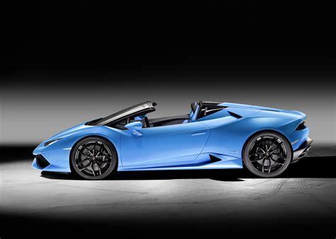 Lamborghini New Huracan New Lamborghini Huracan Lp 610 4 Spyder Arrives Drops Top
