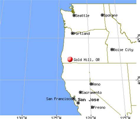 gold hill oregon map gold hill oregon or 97525 profile population maps