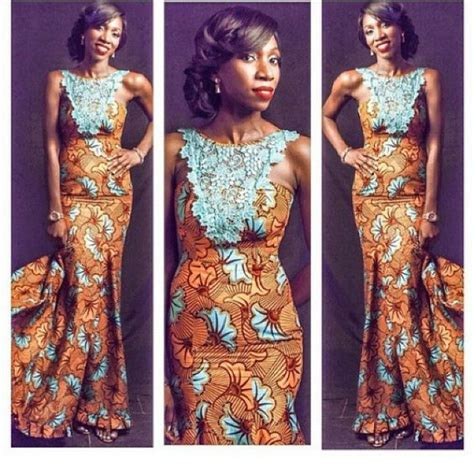 latest ankara and lace in lagos ankara african fashion and lace on pinterest