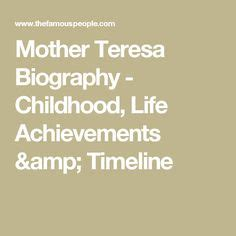 mother teresa timeline biography sally ride american hero i remember this day watching