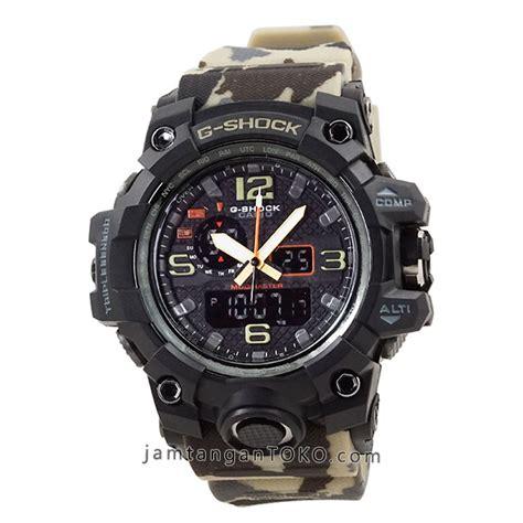Terlaris Jam Tangan G Shock Loreng Water Resist 17 harga sarap jam tangan g shock gwg 1000dc 1a5 army brown kw1