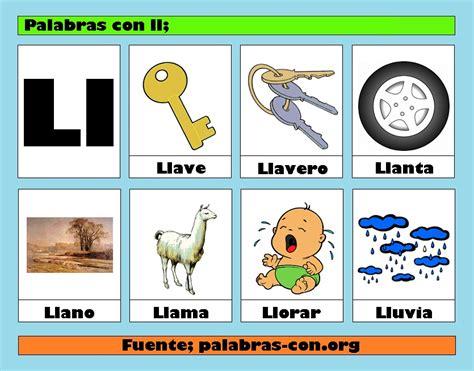 imagenes que empiezen con la letra ll palabras con la letra ll ll ejemplos de palabras con ll
