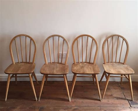 Vintage Ercol Dining Chairs 4 X Ercol Dining Chairs Elm Vintage 1960s In Oxford Oxfordshire Gumtree