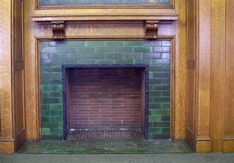 Glazed Brick Fireplace by 888 Delaware Avenue