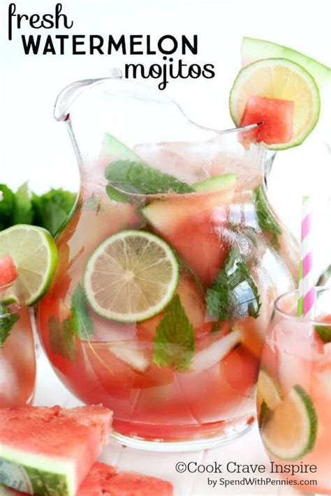Watermelon Lime Mint Drink Detox by Watermelon Summer Cocktails And Fresh On