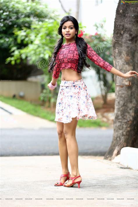 bhavya   micro mini skirt shows  sexy upper thighs