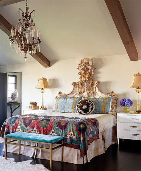 48 Refined Boho Chic Bedroom Designs Digsdigs Boho Bedroom Furniture