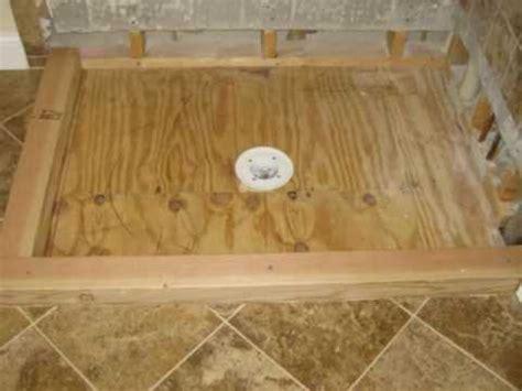 Tileable Shower Pan tileable shower pan