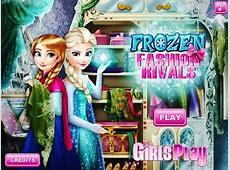 Disney Frozen Games- Frozen Fashion Rivals (Full ... Kids Games For Girls Disney Free Online