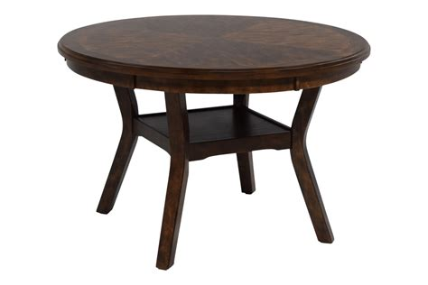 Round Table With 4 Chairs Gia Light Brown Round Table Amp 4 Chairs Mor Furniture For