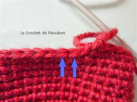 Maille Serrée Au Crochet by Le Crochet De Pandore Tuto Diminutions Invisibles