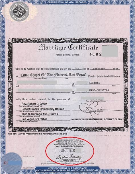 Obtain certified copy of marriage certificate dcf