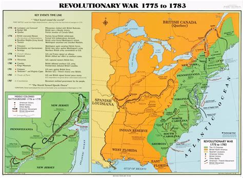 america map in 1783 revolutionary war 1775 to 1783 u s history map