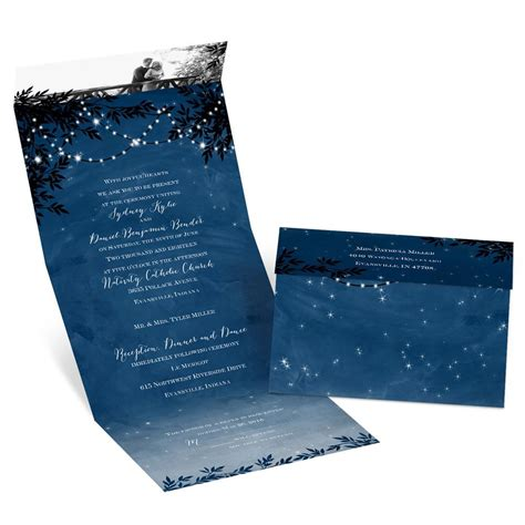 send and seal wedding invitations templates starry seal and send invitation s bridal bargains
