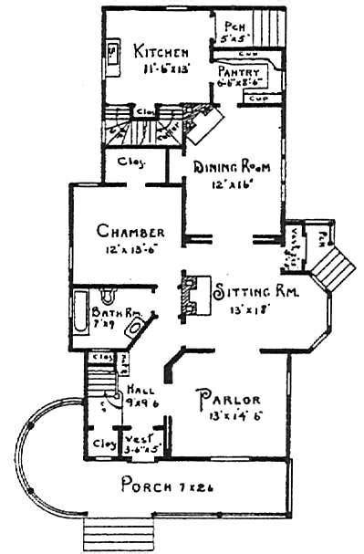 Queen Anne Floor Plans by House Plans And Home Designs Free 187 Blog Archive 187 Queen