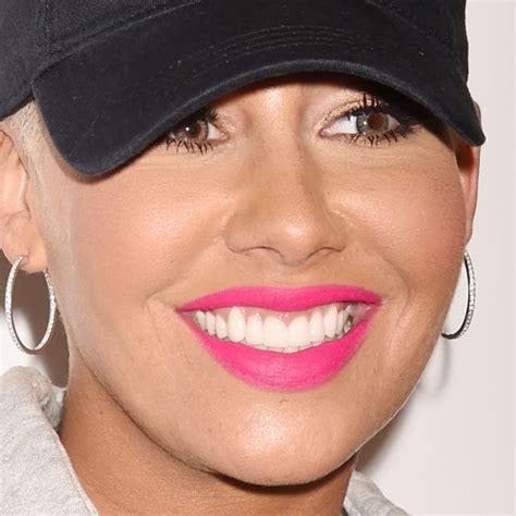 amber rose lipstick amber rose makeup black eyeshadow bronze eyeshadow hot