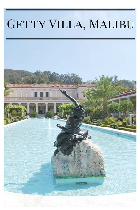 the getty villa in malibu top free kid friendly museums in los angeles traveling