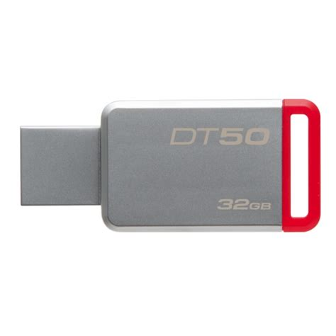 Kingston Datatraveler 50 Usb 3 1 32gb Dt50 32gbfr Diskon kingston 32gb datatraveler dt50 usb 3 1 flash drive dt50 32gb
