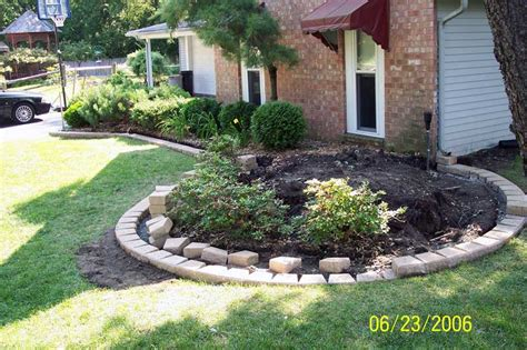 Landscaping Brick Pavers Oakland County Brick Paving Flower Box Edging Brick