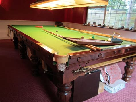 Snooker Table For Sale by Karnehm And Hillman Buckingham Size Snooker Table For
