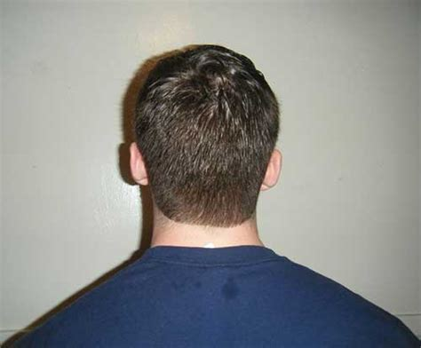 rockabilly rear view of men s haircuts back view of short shaggy hairstyles hairstyles
