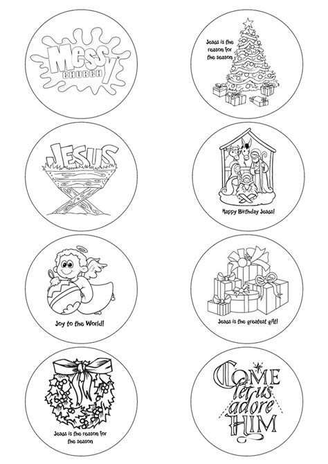 messy church christmas badge templates for 57mm button