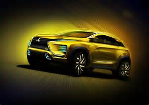 Mitsubishi Design Mitsubishi Ex Concept Design Sketch Render Car Design