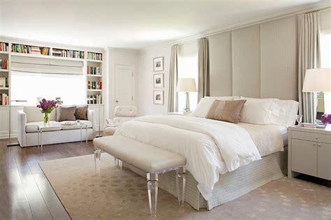 Floor To Ceiling Headboard Ceiling Height Headboard Contemporary Bedroom Benjamin Pigeon Gray House Of Design