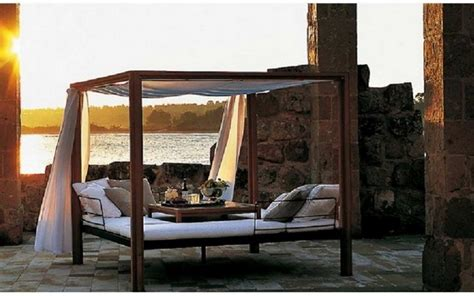 outdoor bed with canopy romantic outdoor canopy beds 05 stylish eve