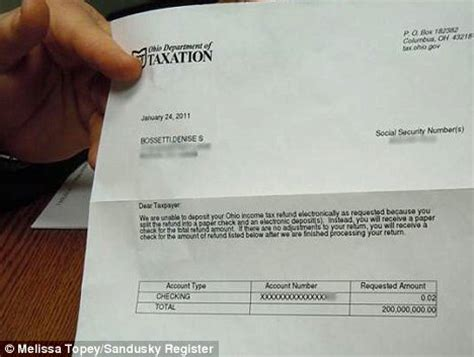 Tax Credit Award Letter Lost Sent 200m Tax Rebate Notice And She S Not The Only One