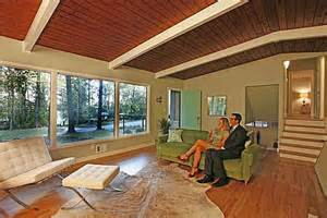 Midcentury Modern Rug - staging a mid century modern house the don draper way