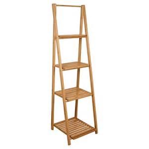 bamboo ladder shelf target