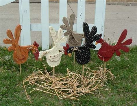 Garden Decoration From Wood by Wooden Yard Decorations Woodworking Projects Plans