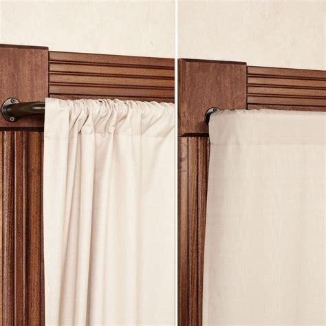 rod curtains blockaide wrap around curtain rod 30 quot to 144 quot