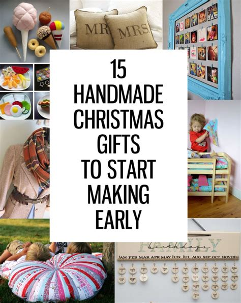 Handmade Gifts For Family - 15 handmade gifts to start now