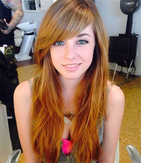 Wedding Hairstyles With Across Bangs by 50 Layered Haircuts With Bangs 2018