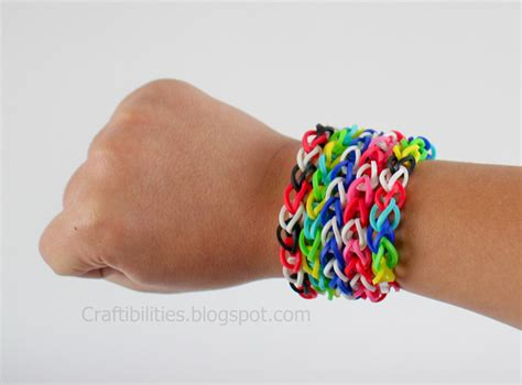 make rubber band jewelry rubber band bracelets make it without a loom tutorial