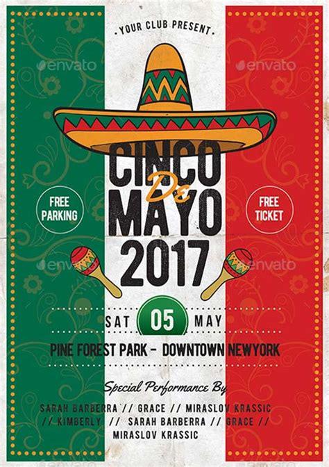 cinco de mayo template cinco de mayo psd template best flyer for mayo parties