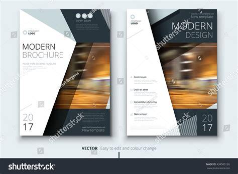 layout magazine concept cover design annual report catalog magazine stock vector