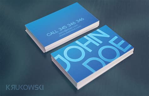 typo business card template business card templates on
