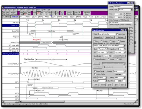 timing diagram editor timing diagram editing and analysis