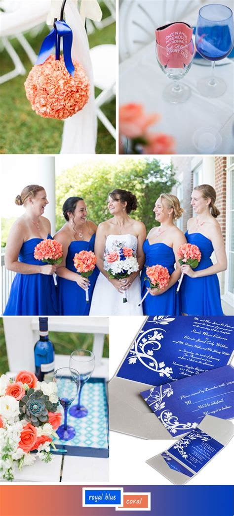 coral and blue wedding theme best 25 coral wedding invitations ideas on