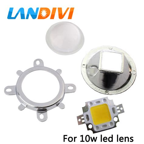 led len formen aliexpress buy 1set 10w led lens square led