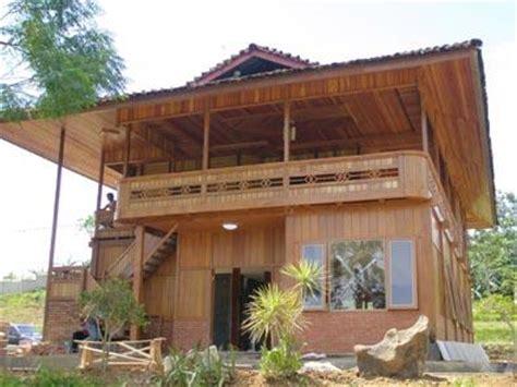 desain interior rumah panggung gambar desain rumah kayu modern gambar rumah idaman