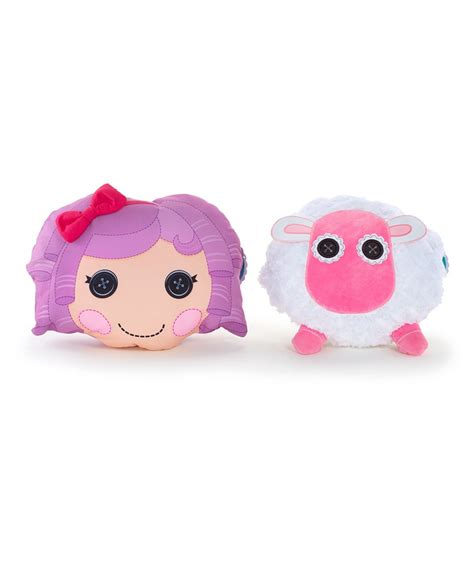 lalaloopsy featherbed sheep reversible pillow